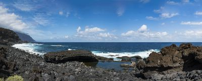 El Hierro island. Canary Islands, Spain royalty free stock images