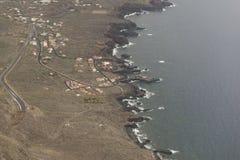 El Hierro island coast. Coast of the Island of El Hierro, Canary Islands stock images
