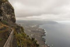 El Hierro island coast. Coast of the Island of El Hierro, Canary Islands stock image