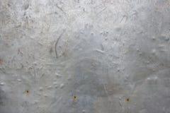 El hierro oxidado gris del grunge del vintage metálico Foto de archivo libre de regalías