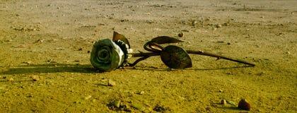 El hierro se levantó Fotografía de archivo libre de regalías
