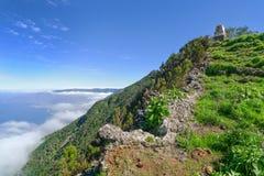 El Hierro - stigning till den Monumento algeneralen Serrador Royaltyfria Bilder