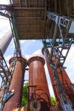 El hierro viejo trabaja los monumentos Imagen de archivo