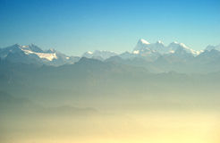 El Himalaya fotos de archivo