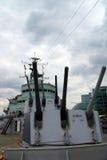 El HMS Belfast Imagen de archivo libre de regalías