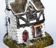 El hogar arquitectónico, se asemeja a artesanía y a creatividad Imágenes de archivo libres de regalías