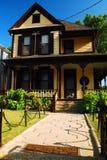 El hogar de la adolescencia de Martin Luther King, JR Imágenes de archivo libres de regalías