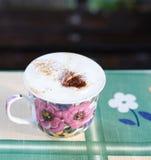 El hogar hizo el café Imágenes de archivo libres de regalías