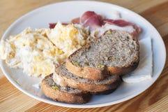 El hogar hizo el desayuno Fotos de archivo