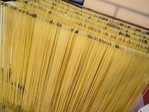 El hogar hizo el espagueti Fotografía de archivo libre de regalías