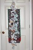 El hogar hizo la decoración de la Navidad Fotografía de archivo