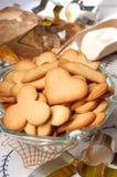 El hogar hizo las galletas fotografía de archivo