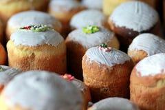El hogar hizo los panes del pan de Pascua Foto de archivo libre de regalías