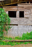 El hogar tailandés del país del estilo Fotografía de archivo
