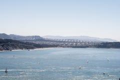 El Holiday& x27; bahía de s, San Francisco Fotos de archivo