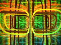 El holograma Fotografía de archivo
