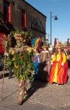 El hombre de la baya, festival de la abundancia de octubre, Londres Fotos de archivo
