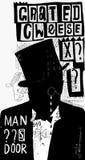 El hombre en el sombrero libre illustration