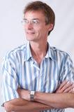 El hombre en puntas Foto de archivo libre de regalías