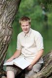 El hombre joven Fotografía de archivo