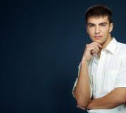 El hombre joven hermoso fotos de archivo libres de regalías