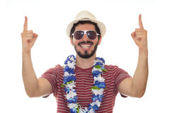 El hombre se vistió para un partido del traje Fotos de archivo