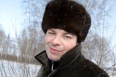 El hombre sonriente Fotografía de archivo libre de regalías