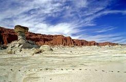 El Hongo Park Ischigualasto. The famous rock formation EL Hongo in Argentinas Parque Provincial Ischigualasto (Valle de la luna Royalty Free Stock Photos