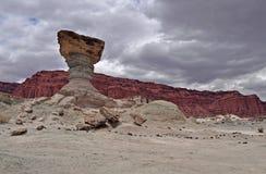 EL Hongo. Parque provincial de Ischigualasto. Argentina Fotografía de archivo libre de regalías