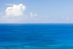 El horizonte de mar Fotos de archivo libres de regalías