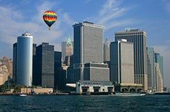 El horizonte de New York City Foto de archivo libre de regalías