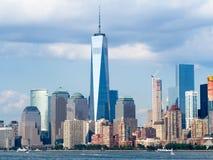 El horizonte de New York City Imagen de archivo