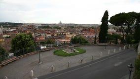 El horizonte de Roma almacen de video