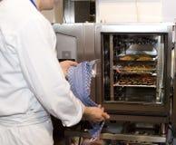 El horno eléctrico Foto de archivo libre de regalías