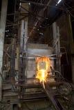 El horno para cocinar el vidrio Imagen de archivo libre de regalías