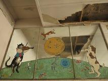 El hospital de niños cerrado de Addington Fotos de archivo