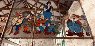 El hospital de niños cerrado de Addington Imagenes de archivo