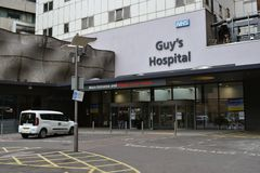 El hospital Londres del individuo Fotos de archivo libres de regalías