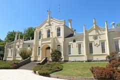 El hospital original de Creswick (1863) dejó de funcionar como un hospital en 1912 cuando se convirtió en parte de la escuela de  Imágenes de archivo libres de regalías