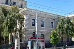 El hospital pacífico meridional dio vuelta a la plaza de la familia de la misericordia, 3 imágenes de archivo libres de regalías