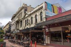 El hotel Bristol en Wellington Fotografía de archivo libre de regalías