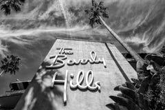 El hotel de Beverly Hills Fotos de archivo libres de regalías