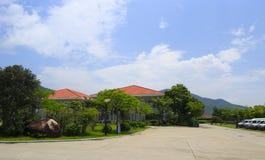 El hotel de centros turísticos del tianzhu Imágenes de archivo libres de regalías