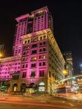 El hotel de la península en Hong Kong Foto de archivo
