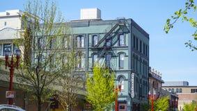 El hotel de la sociedad en Portland - PORTLAND - OREGON - 16 de abril de 2017 Imagen de archivo