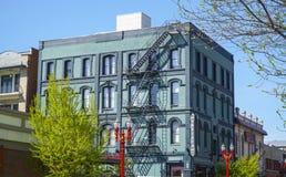 El hotel de la sociedad en Portland - PORTLAND - OREGON - 16 de abril de 2017 Imagen de archivo libre de regalías