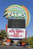 El hotel de las palmas firma adentro Las Vegas, nanovoltio el 14 de junio de 2013 Imágenes de archivo libres de regalías