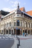 El hotel de Monopol en Wroclaw, Polonia Imagenes de archivo