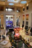 El hotel de Palazzo hace compras en Las Vegas fotos de archivo