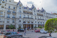 El hotel de París Fotografía de archivo libre de regalías